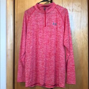 Men's quarter zip pull over